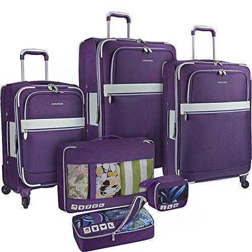 us-traveler-alamosa-6-piece-luggage-set-purple