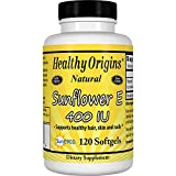 Healthy Origins Sunflower Vitamin E-400 IU, 120 Softgels Review
