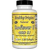 Healthy Origins Sunflower Vitamin E-400 IU, 120 Softgels For Sale