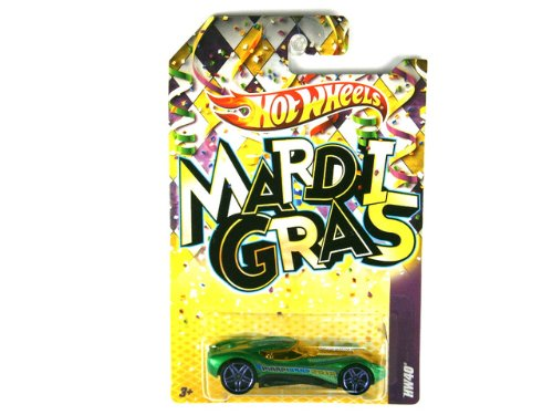 Mattel Hot Wheels MARDI GRAS 2012 SERIES Green HW40 (Mardi Gras Series)
