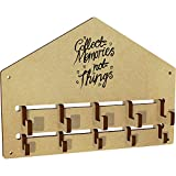 Azeeda 'Collect Memories' Wall Mounted Coat Hooks / Rack (WH00024912)