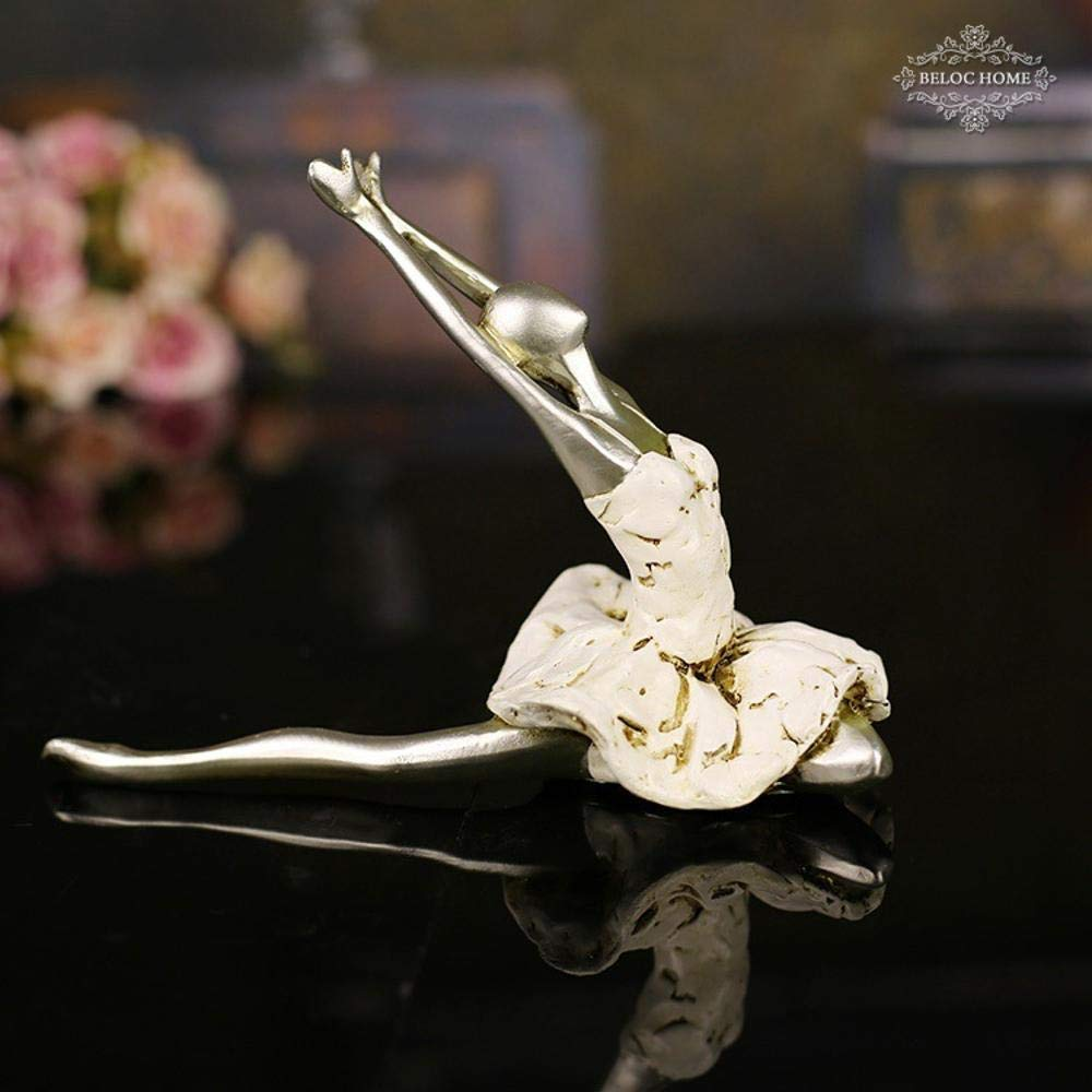 Maerye Dance Ballet action Beautiful girl home decoration resin handmade Crafts