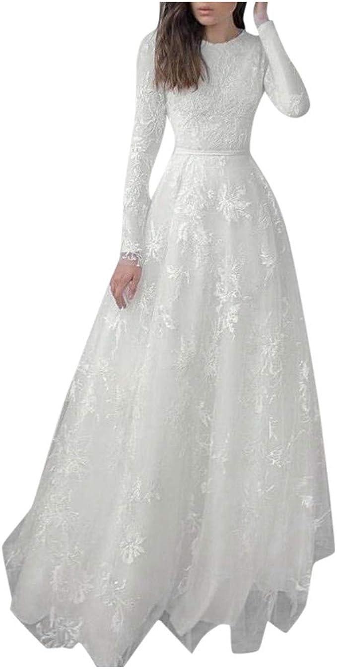 ZZBO Festliche Kleider Damen Ballkleid Abendkleider Elegant für