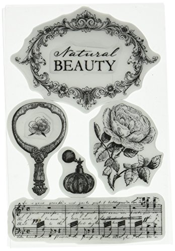 Prima Marketing Bella Rouge Cling Rubber Stamps, 4 x 6