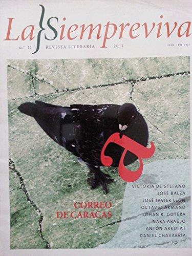 La siempreviva.revista literaria.cuba.numero 11.del 2011.correo de caracas.