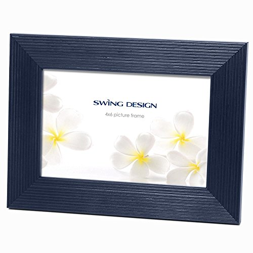 The Original LINIA NAVY-BLUE Solid Wood 4x6 frame by Swing Design - 4x6