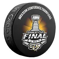 2017 NHL Western Conference Champions Nashville Predators Souvenir Hockey Puck