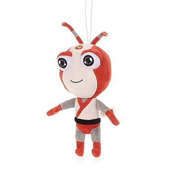 Goolsky Juguete de peluche de hormiga Estrella Ants Animación Estatuilla Muñeca de peluche de felpa Cumpleaños