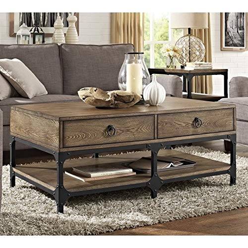 Crosley Furniture Trenton Solid Hardwood Coffee Table