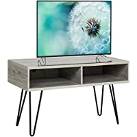 Best Choice Products Entertainment 42 TV Stand Media Console With Metal Hairpin Legs