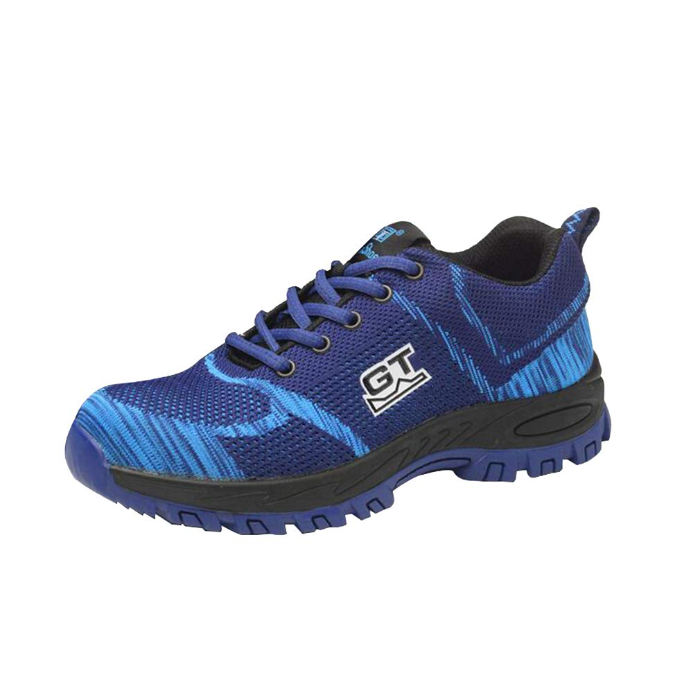 Juleya Acier Chaussures B07D9LSCW2 de sécurité | Chaussures de Travail pour Travail Hommes Femmes | Baskets Basses légères en Acier Bleu b1b3e45 - therethere.space