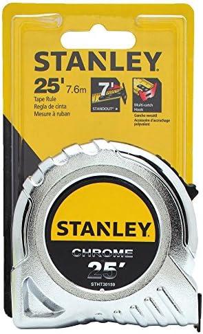 Lot de 24-25/' STANLEY ruban à mesurer Powerlock # 33-425 Ruler-non cardées