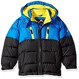 Kyпить Vertical 9 Little Boys' Bubble Jacket (More Styles Available), V212-Blue/Black, 5/6 на Amazon.com