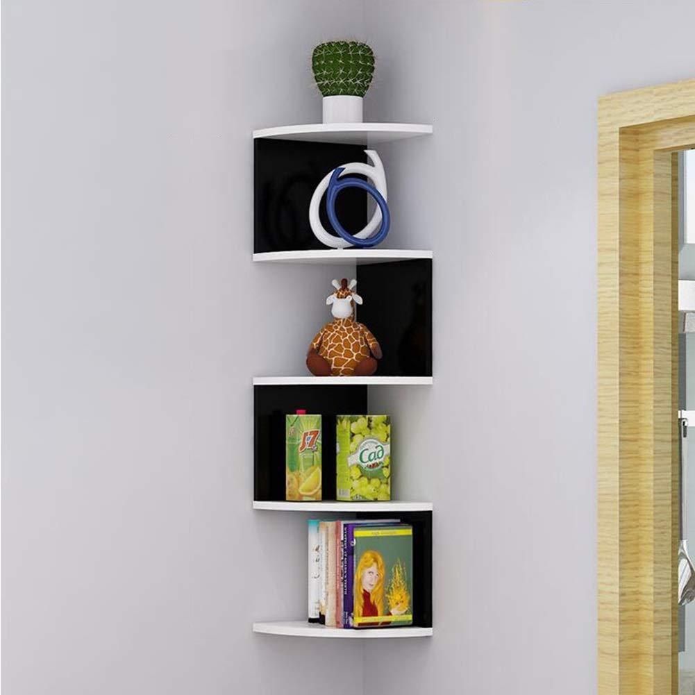 Storage Shelf, Panel-Shaped Corners, Wall Hanging Bookshelf, Storage Rack Triangular Multi-Layer Wall Partition Quality Assurance Yixin (Color : C, Size : 87.520cm)