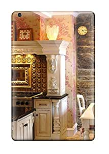 BbwoGPx6521smncl Case Cover Floral Kitchen With Stone Wall Dining Space Ipad Mini/mini 2 Protective Case