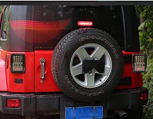 Sxma Led Rücklicht Bremslicht Rückfahrscheinwerfer Für Wrangler Jk Jku 2007 2017 Euro Version Auto