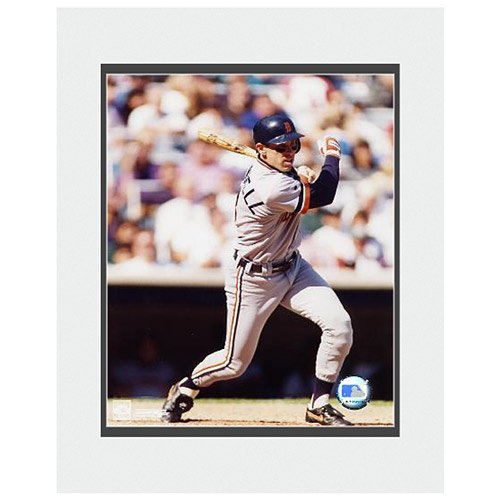 Photo File Detroit Tigers Alan Trammell Matted Photo