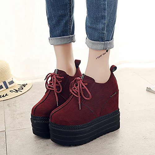 f6f08257a22 SDKIR-Autumn and winter super high-heeled platform shoes in Korean women  casual shoes