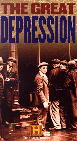 The Great Depression (History Channel - 4 video set) [VHS]