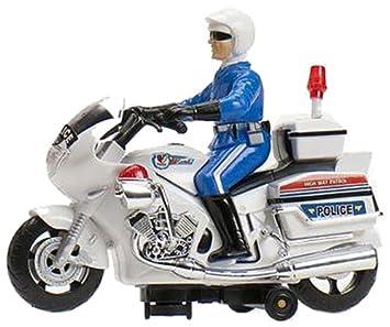 Cosas 651011 - Moto Policia Salvaobst  Luz Y Sirena