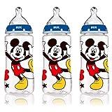 NUK Disney Baby Bottle, Mickey Mouse, 10oz 3pk