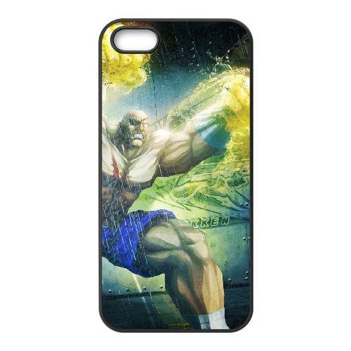 Street Fighter X Tekken 13 coque iPhone 4 4s cellulaire cas coque de téléphone cas téléphone cellulaire noir couvercle EEECBCAAN03436