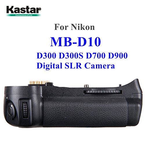 (Kastar Pro Multi-Power Vertical Battery Grip (Replacement for MB-D10) for Nikon D300 D300S D700 D900 Digital SLR Camera)