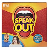 (US) Speak Out Game Mouth Guard Party Game Mouthguard Challenge Card Game