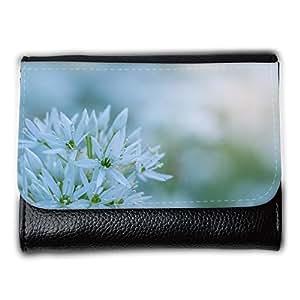 le portefeuille de grands luxe femmes avec beaucoup de compartiments // M00289830 Flor de ajo de oso blanco Macro // Medium Size Wallet