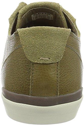 E U Geox Basses Muskc3704 Sneakers Homme Smart Vert O1xpSwO