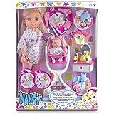 Nancy - Día en la pelu con su hermanita, muñeca y accesorios (Famosa 700012940)