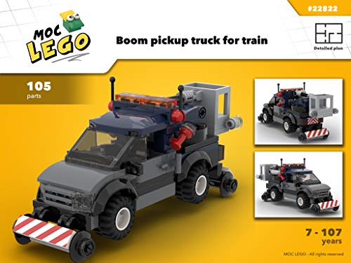 - PickUp Boom Train (Instruction Only): MOC LEGO