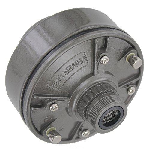 MIYAKO USA 100 Watts Speaker Driver Unit with Aluminum Body and Neodymium Diaphragm Screw on Type (DU-100) -