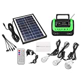 Portable Small Solar Panels Charging Generator with Radio MP3 Flashlight Mobile Power Supply - Electrical Equipment & Supplies Generator & Supplies - 1 x Power Generator, 1 X Solar Panel