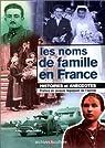 Les Noms de famille en France par Mergnac
