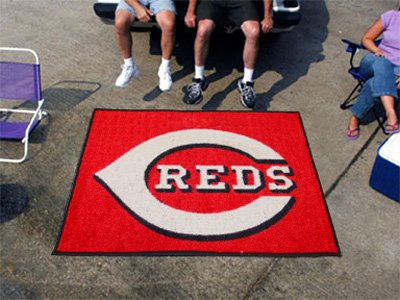 Fan Mats 8105 MLB - Cincinnati Reds 5' x 8' Area Rug