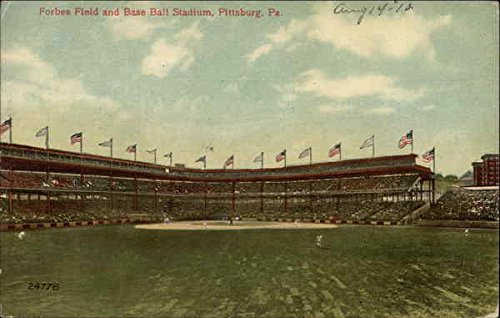Forbes Field and Baseball Stadium Pittsburgh, Pennsylvania Original Vintage Postcard - Field Baseball Forbes