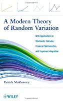A Modern Theory of Random Variation Front Cover