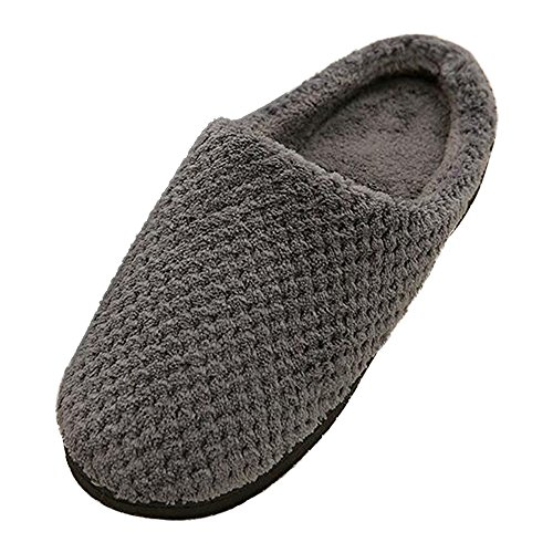 Floor Couple Non slip Female Comfortable Winter Slippers Grey Shoes Eastlion Home Indoor wf60qaI8
