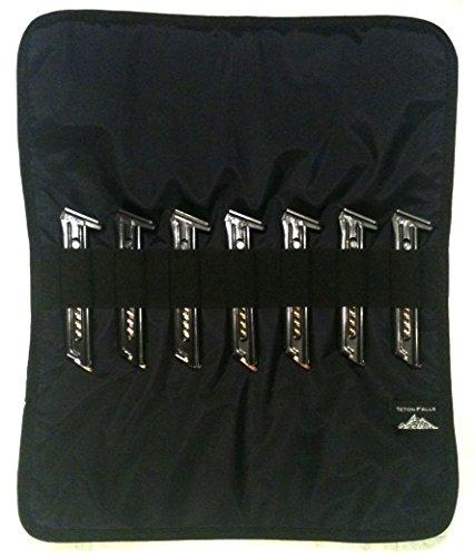 22LR + 380 Magazine Wrap - Buckmark Ruger Mossberg M&P Beretta Sig Taurus (Midnight Black)