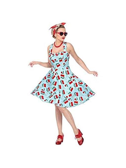 meet adfa2 5dd72 WIDMANN Costume Moda Anni 50 da Donna Adulti, Nero, 48331 ...