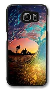 Beautiful Bridget Polycarbonate Hard Case Cover for Samsung Galaxy S6 Black