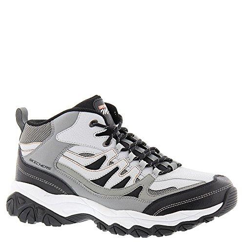 Skechers Sport Hombre Afterburn M. Fit Mid-high Sneaker Gris-carbón