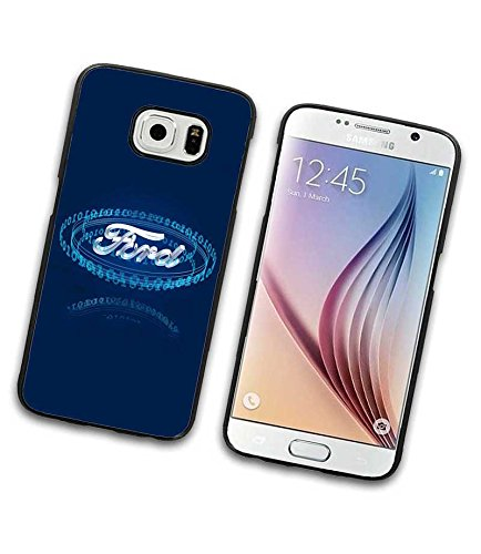 Ford Auto Logo Case GucckR Samsung Galaxy S6 HuLle Vintage Holz Hardcase