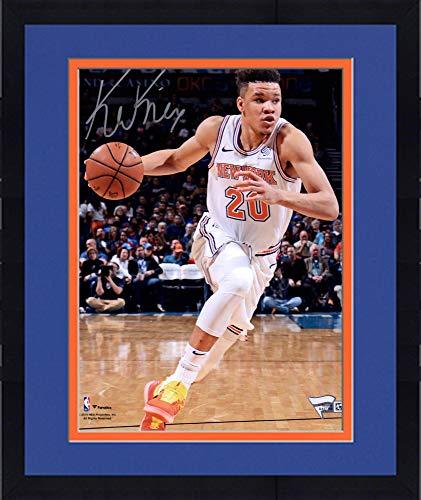 Framed Kevin Knox New York Knicks Autographed 8