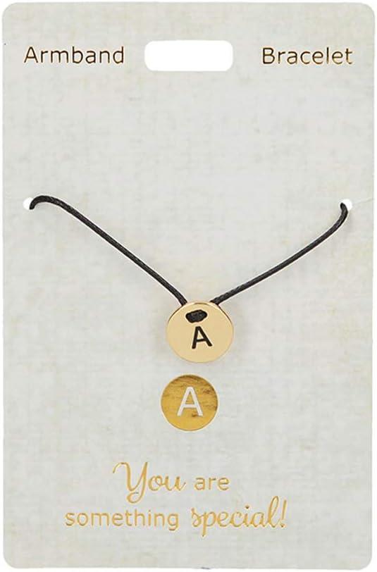 Depesche 4704.14Pulsera, Just For You, con Cinta de Nailon, a, Oro, Multicolor
