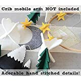Baby Crib Mobile Hanging Ornament, 3D Starry Clouds