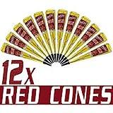 Kokila Mehandi Cone (Red Cone)