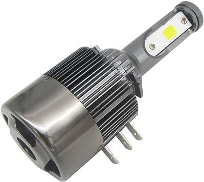 H1 LED fari marcia diurna Pere Lampade Lampada 6000k COB 110w BIANCO HID