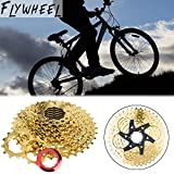 9-Speed 11-40T Golden Big Flywheel Climbing Flywheel Toothed Mountain Bike Cassette Type Variable Speed Gear by ZTTO